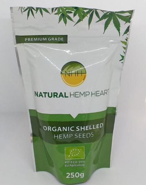 Seminte de canepa organica, 250 gr 0