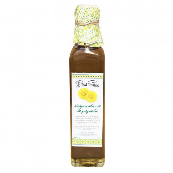 Sirop din floare de papadie 250 ml 0
