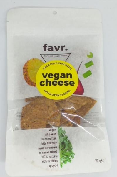 Crackers Vegan Cheese, FARA GLUTEN 0