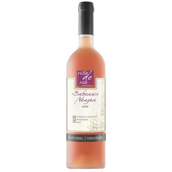 Vin Babeasca Neagra rose bio, 750ml 0