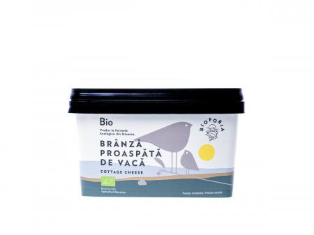 Brânză Bio proaspătă de vacă, 400 gr [0]