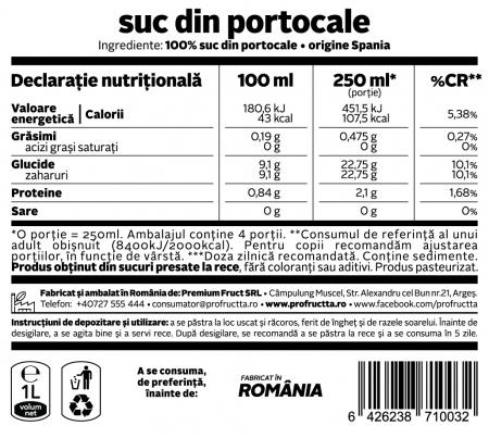 Suc din Portocale, 1 litru [1]