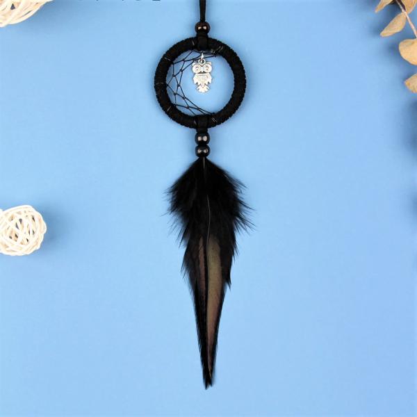 Dreamcatcher Black Owl [0]