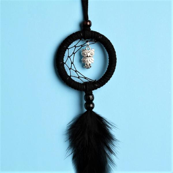 Dreamcatcher Black Owl 1