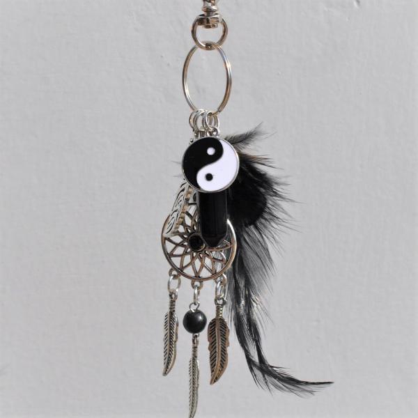 Breloc Dreamcatcher Yin Yang 1