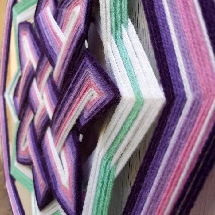 Decoratiune Azteca Ollin Purple [1]