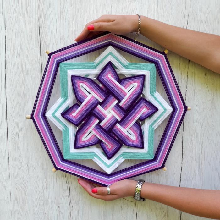 Decoratiune Azteca Ollin Purple [3]