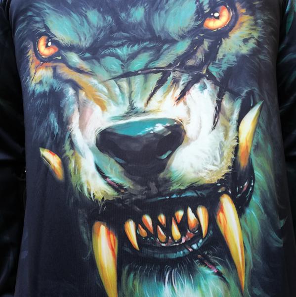 Hanorac 3D Dark Wolf 3