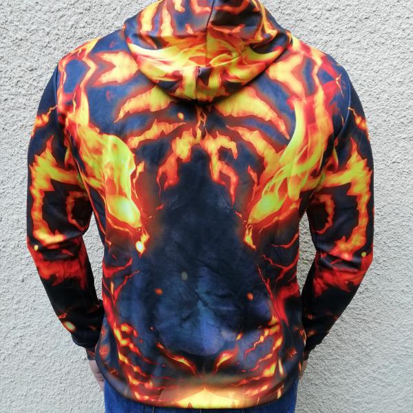 Hanorac 3D Pantera Fire 1