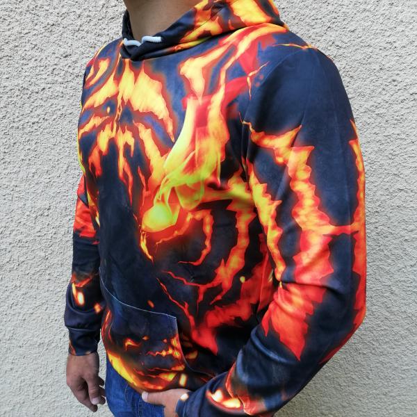 Hanorac 3D Pantera Fire 2