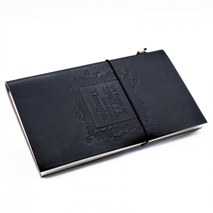 Agenda din piele Book of Spells 0