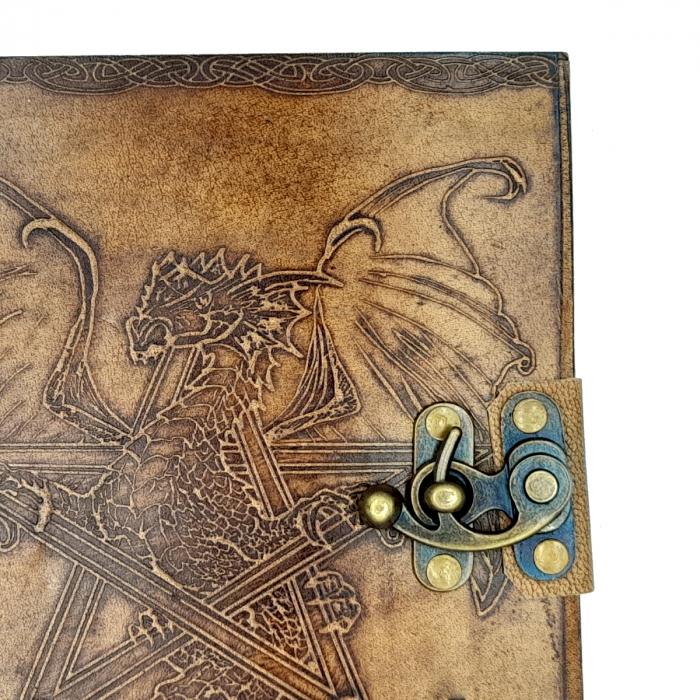 Agenda din piele Dragon [3]