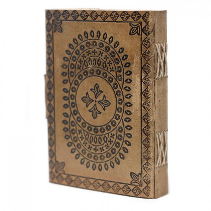 Agenda din piele Druid Mandala [1]