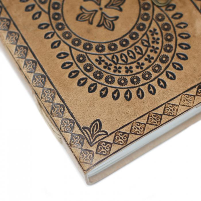 Agenda din piele Druid Mandala [3]