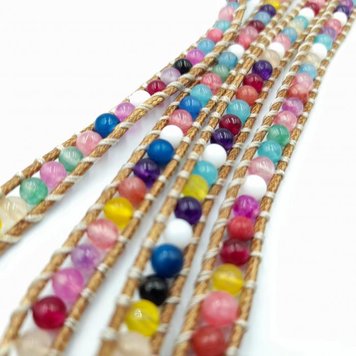 Bratara Multistrat Hippy Beads [1]