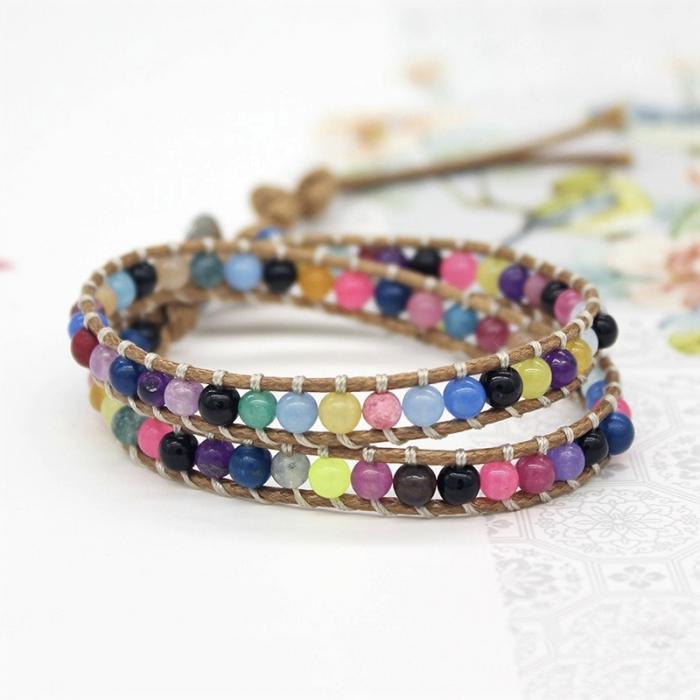 Bratara Multistrat Hippy Beads [0]