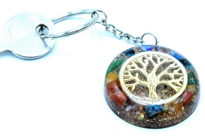 Breloc Orgonic Tree of Life 3
