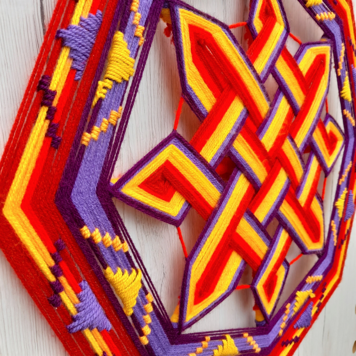 Decoratiune Azteca Ollin 1