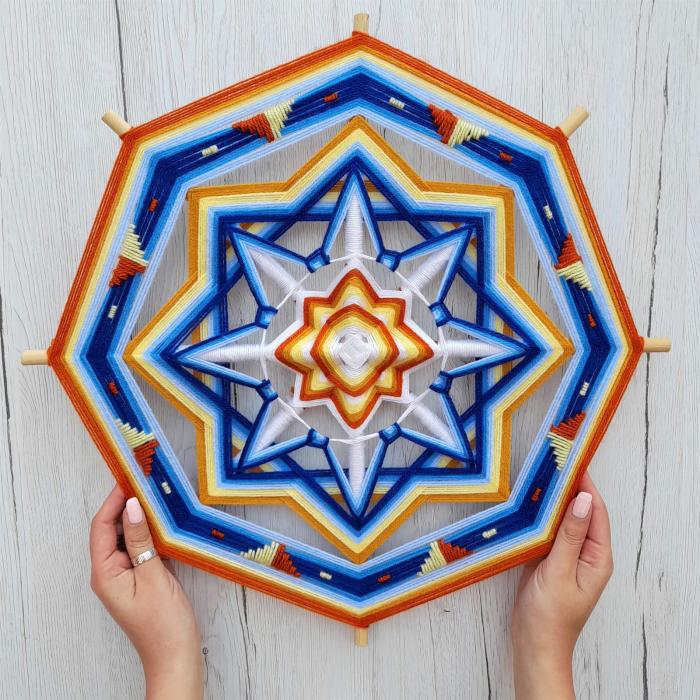 Decoratiune Azteca Yagul Mandala [1]