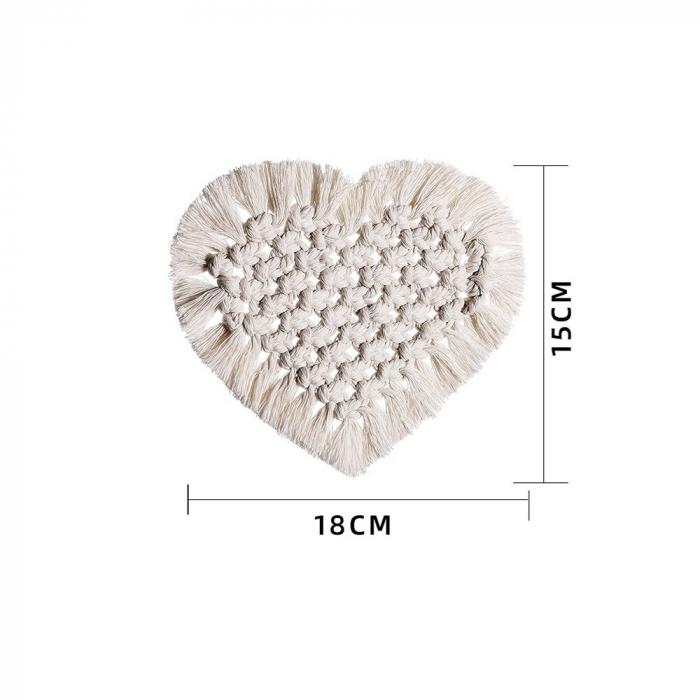 Decoratiune Macrame I Heart [3]