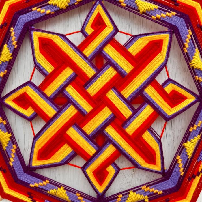 Decoratiune Azteca Ollin 2