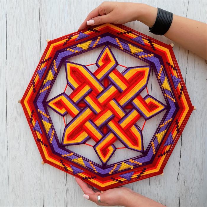 Decoratiune Azteca Ollin 3