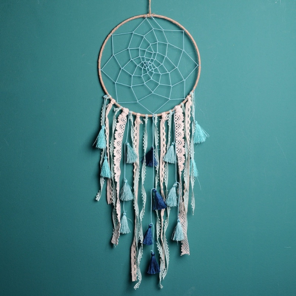 Dreamcatcher Baby Blue Tassel 0