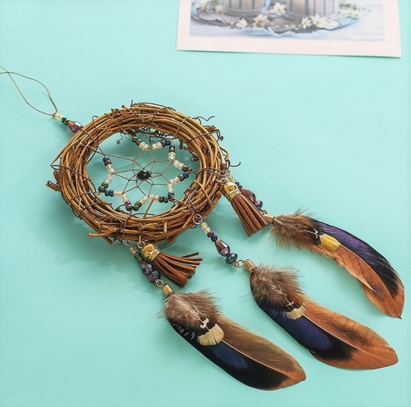 Dreamcatcher Rattan Retro 0