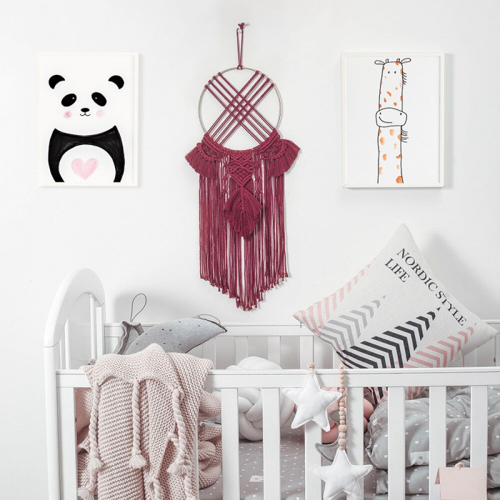 Decoratiune macrame dreamcatcher [1]