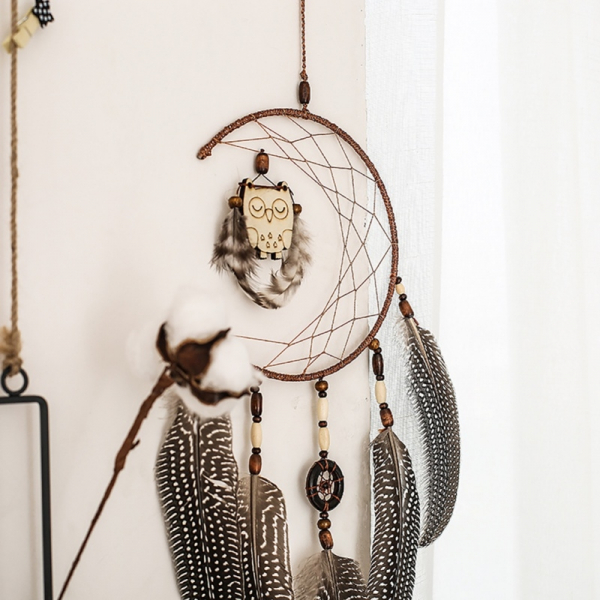 Dreamcatcher Sleeping Owl 0