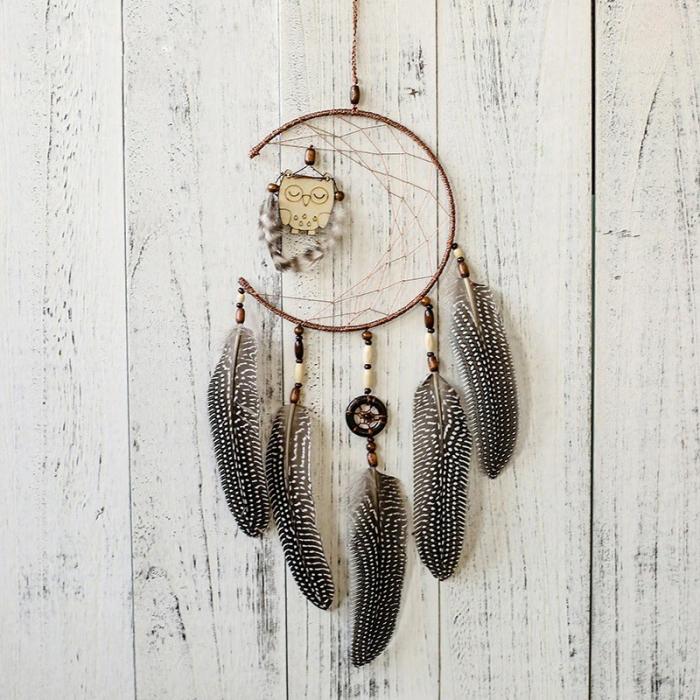 Dreamcatcher Sleeping Owl [2]