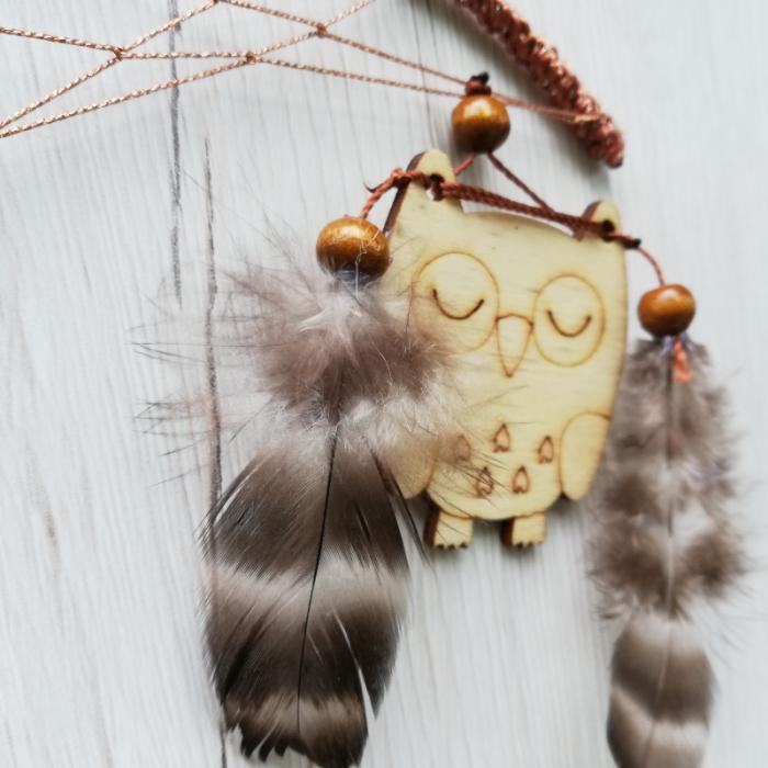Dreamcatcher Sleeping Owl [1]