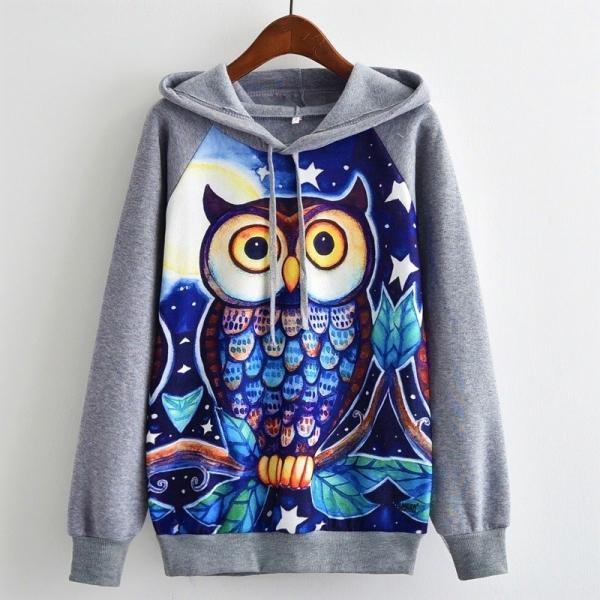 Hanorac Blue Owl [0]