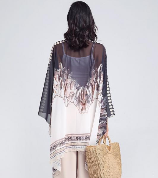 Kimono Elegant Feather 1