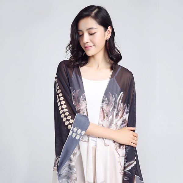 Kimono Elegant Feather 2