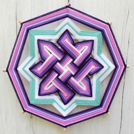 Decoratiune Azteca Ollin Purple [0]