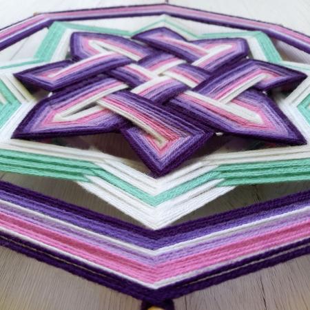 Decoratiune Azteca Ollin Purple [2]