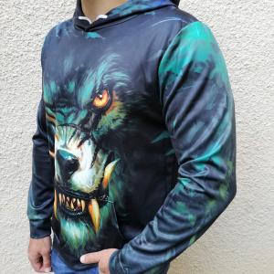Hanorac 3D Dark Wolf2