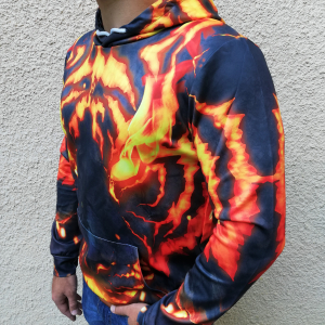 Hanorac 3D Pantera Fire2
