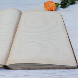 Agenda A5+ Vintage Manuscript1