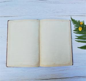 Agenda A5+ Vintage Manuscript3