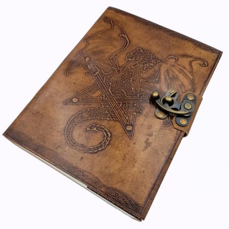 Agenda din piele Dragon [0]