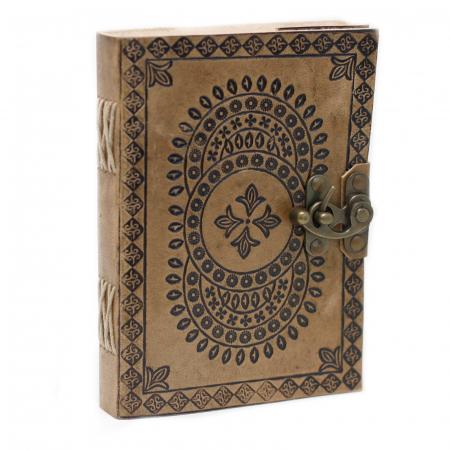 Agenda din piele Druid Mandala [0]