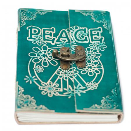 Agenda din piele Peace [3]