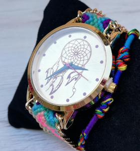 Ceas Dreamcatcher Rainbow2