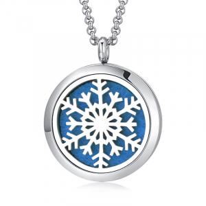 Colier Aromaterapie Snowflake0
