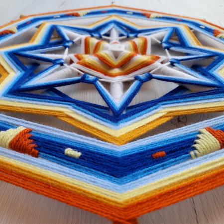 Decoratiune Azteca Yagul Mandala [3]
