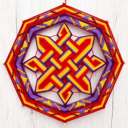 Decoratiune Azteca Ollin0