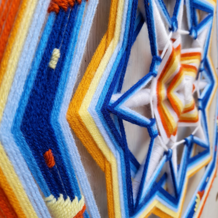 Decoratiune Azteca Yagul Mandala [2]