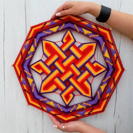Decoratiune Azteca Ollin3